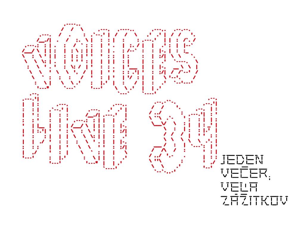 Zuzana Kronerová, Petra Vajdová aďalší na Voices Live 34