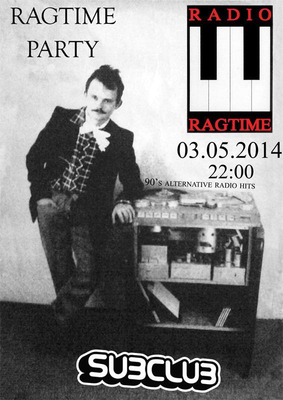 Párty Rádia Ragtime 3.mája vSubclube