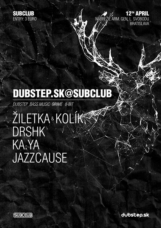 Original DUBSTEP Night v Subclube