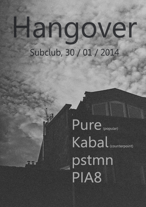 Hangover @ Subclub vo štvrtok