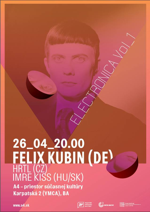 Electronica Vol. 1: Nemecký hudobník Felix Kubin vystúpi v A4