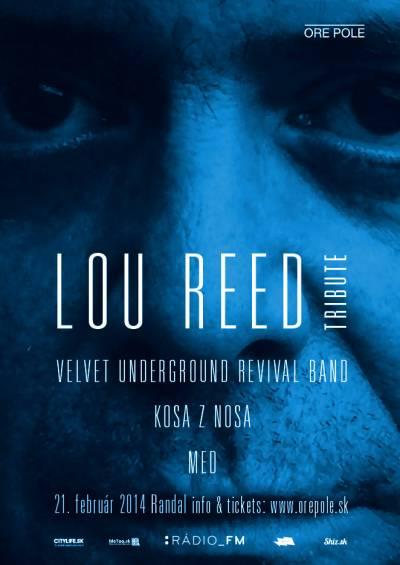 Na Lou Reed Tribute aj špeciálni hostia vrátane Shootyho