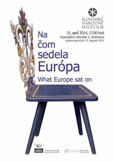 Na čom sedela Európa, nová výstava SNM v Bratislave