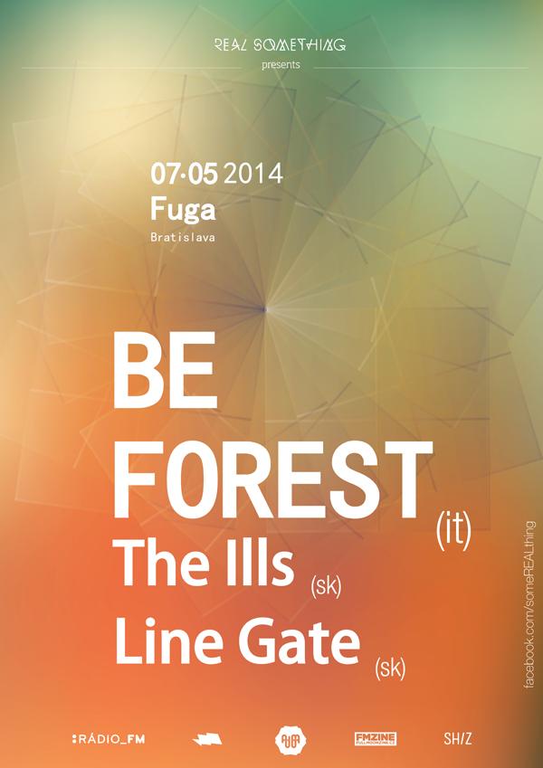 Snoví Be Forest zahrajú v Bratislave