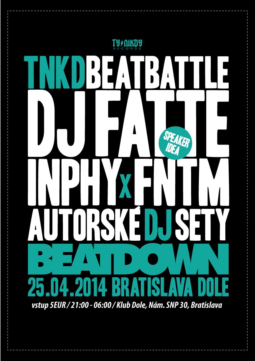 Ty Nikdy BeatDown proběhne už tento pátek