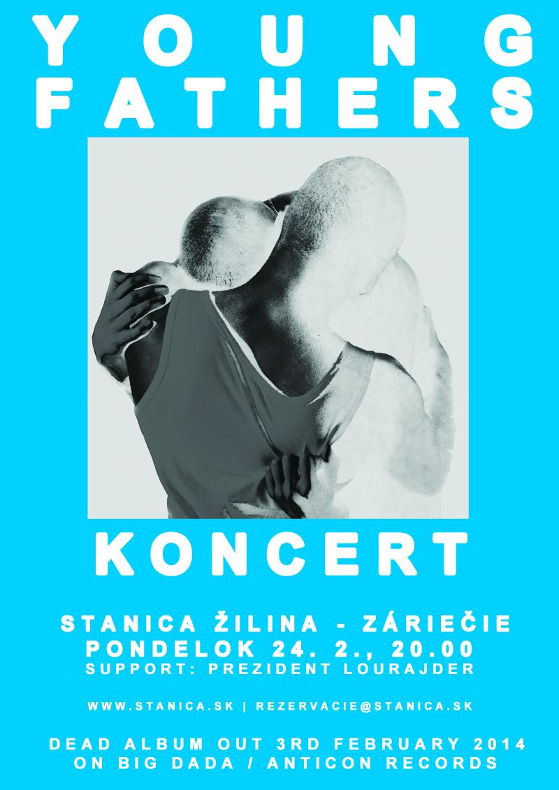 Škótski Young Fathers premiérovo na Slovensku