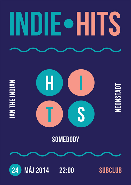 INDIE HITS / 24.máj /Subclub