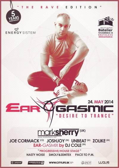 """Ear-Gasmic """"The Rave Edition"""" sMarkom Sherry: Záverečné informácie"""