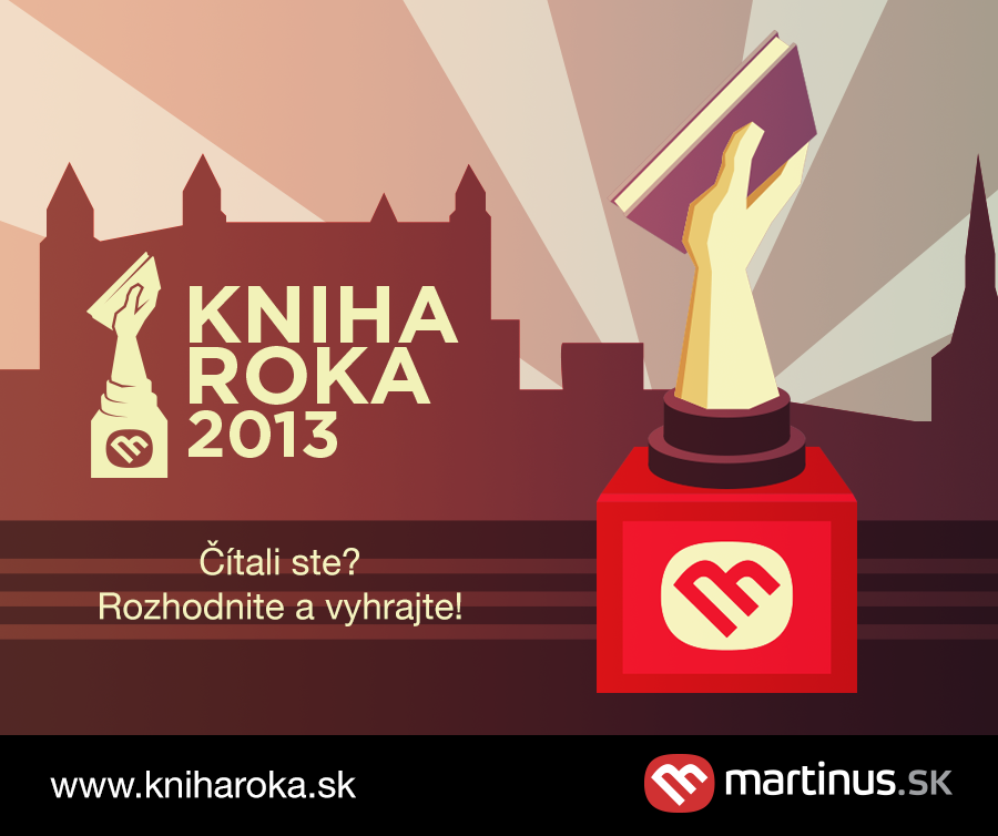Začalo sa hlasovanie o Knihe roka 2013 v najväčšej slovenskej knižnej súťaži založenej na recenziách