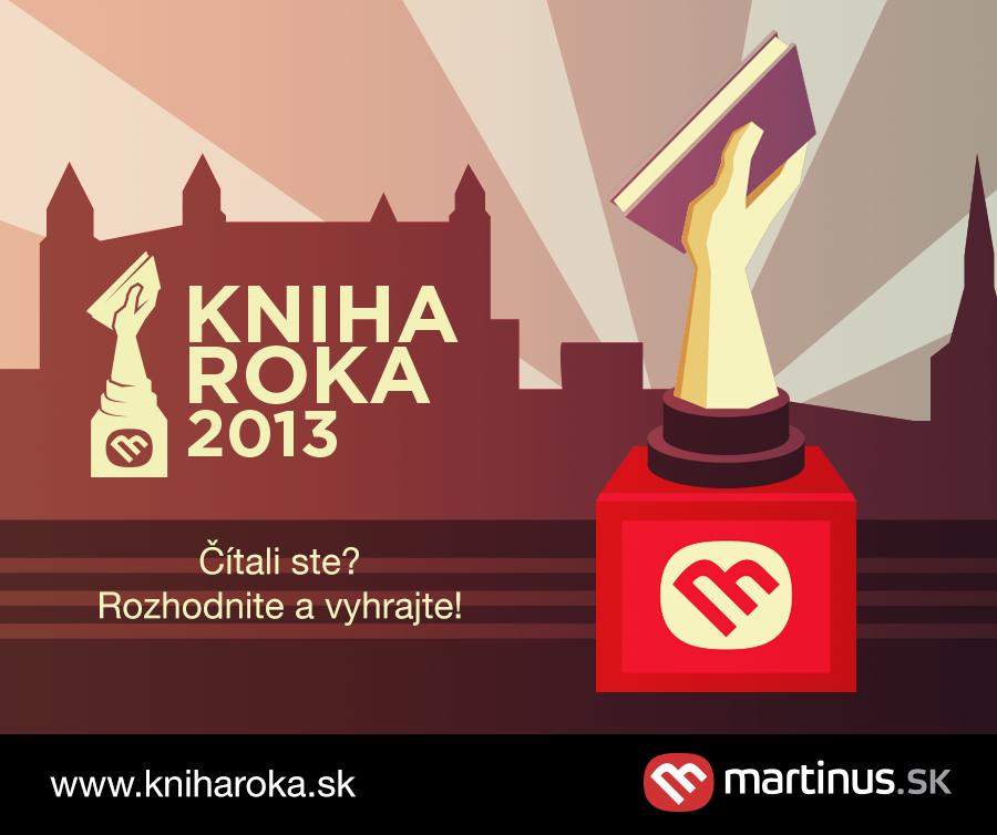 Čitatelia si zvolili Knihu roka 2013