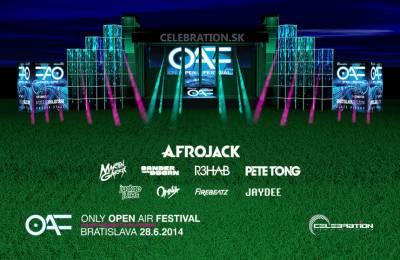Only Open Air Festival privíta svetovú DJ-skú elitu originálnymi efektmi