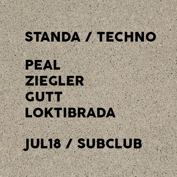 Standa (Club Techno) v piatok 18.júla