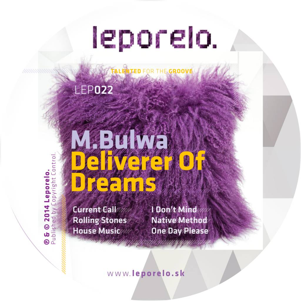 Slovenský producent M.Bulwa vydáva novú Deliverer Of Dreams EP