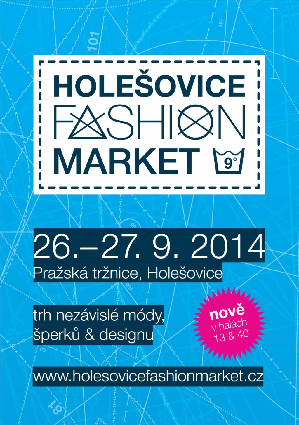 Zářijový Holešovice Fashion Market objevuje nové prostory Pražské tržnice