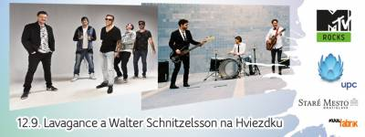 MTV prinesie do centra Bratislavy koncerty Lavagance a Walter Schnitzelsson, vstup bude voľný