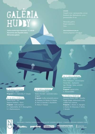 Galéria hudby – cyklus komorných koncertov