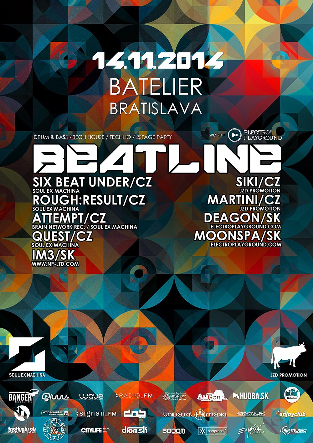 Beatlien 5 – predstavenie lineup-u