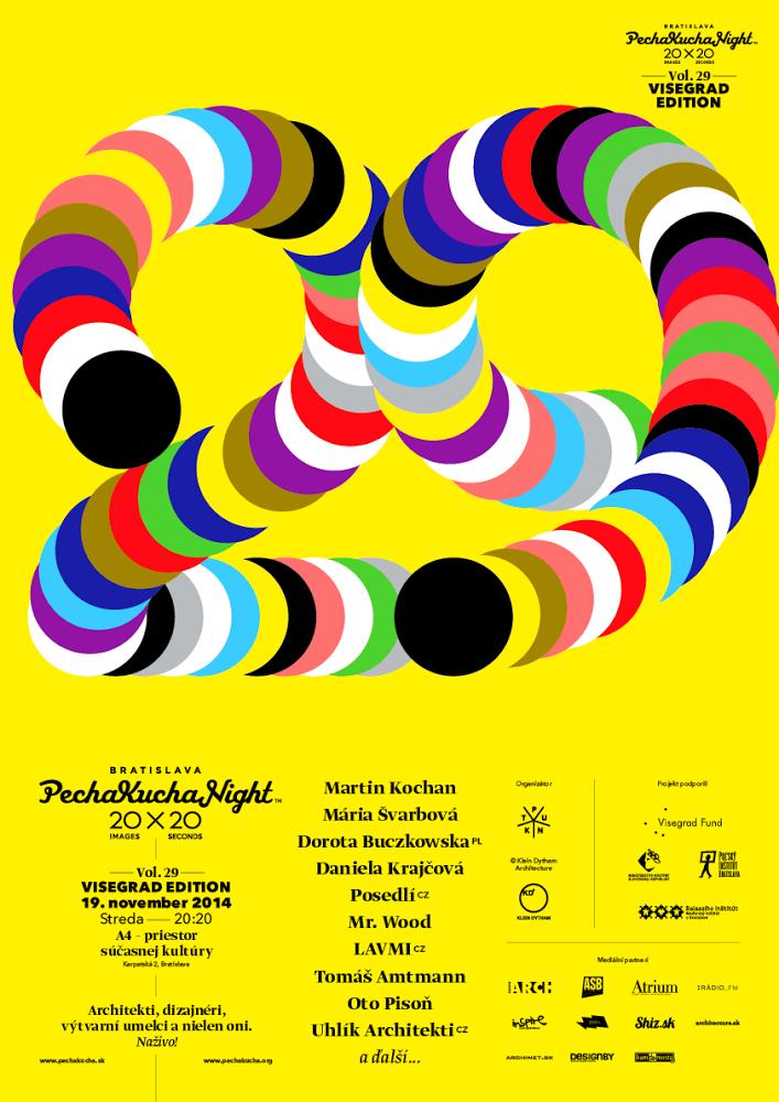 Posledná tohtoročná PechaKucha Night Bratislava predstaví trinásť hostí z V4