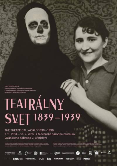 Fotografická vstupenka do dávneho teatrálneho sveta