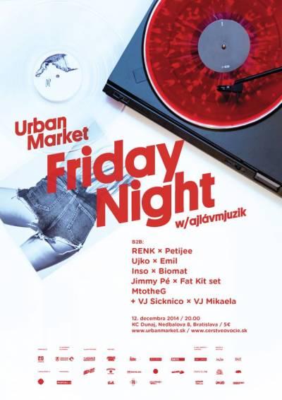 Urban Market Friday Night w/ ajlávmjuzik