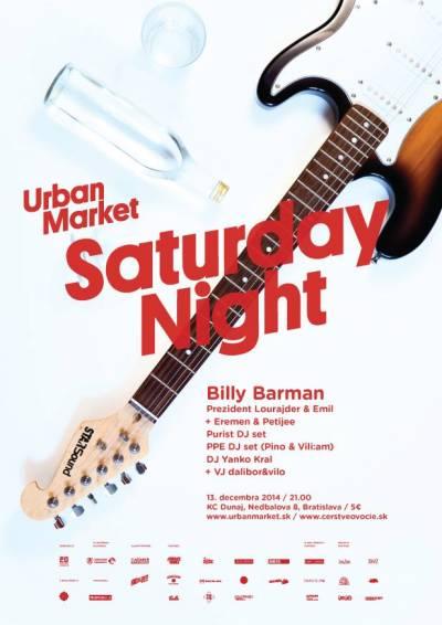 Urban Market Saturday Night