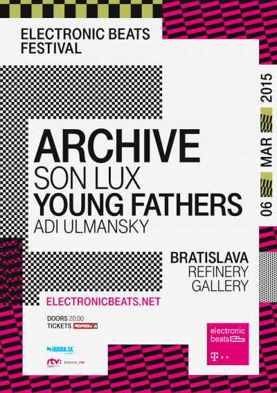 Telekom Electronic Beats do Bratislavy privezú Archive aj Young Fathers