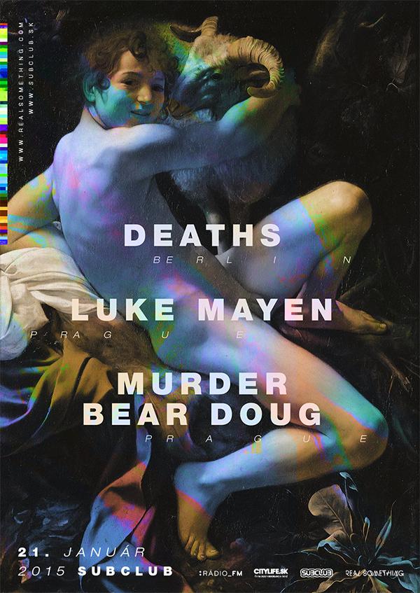 Tajomní DEATHS z Berlína v Subclube