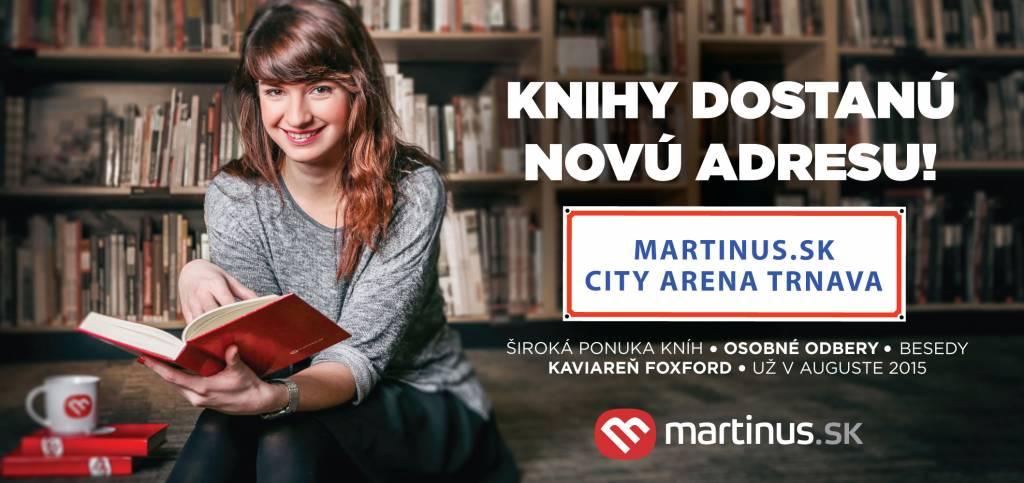 Siedme kníhkupectvo Martinus.sk bude v Trnave