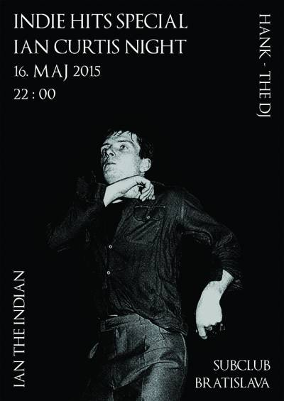 INDIE HITS: Ian Curtis Night