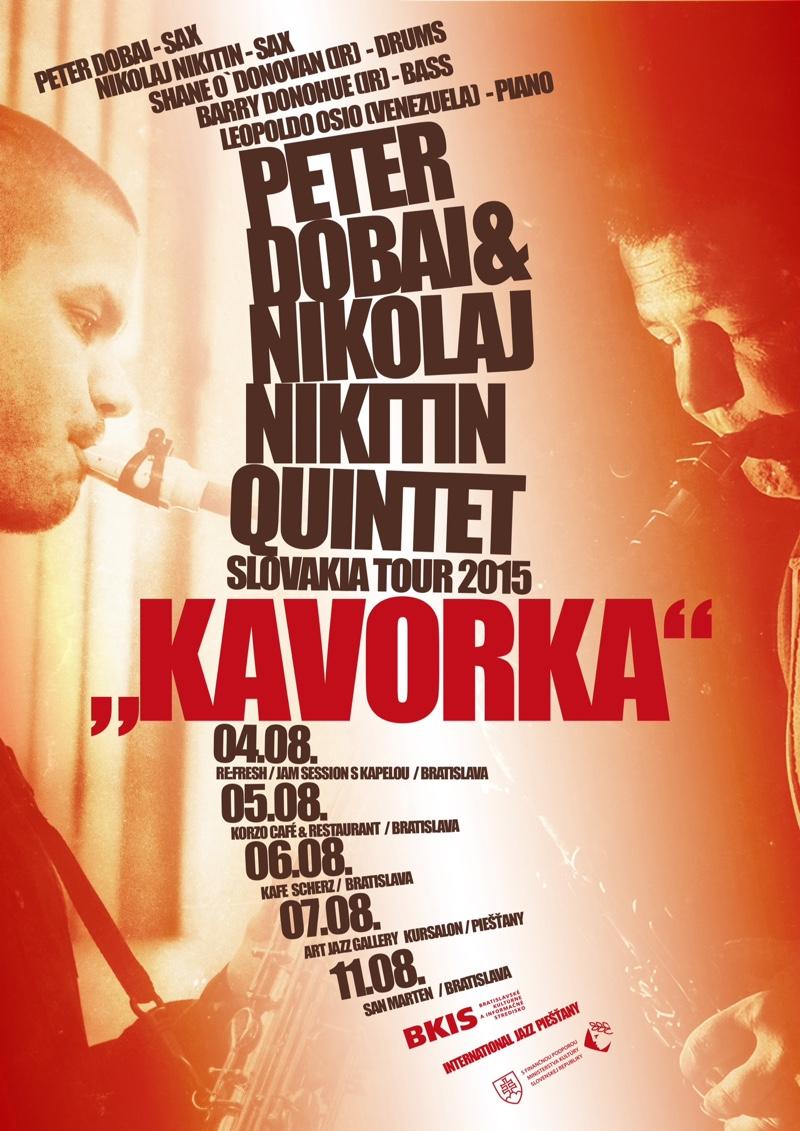 Peter Dobai a Nikolaj Nikitin Kvintet – Slovakia tour 2015