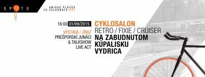 Spots#6: Salónni cyklisti aPrešporskí junáci sa zabavia na zabudnutom kúpalisku Vydrica