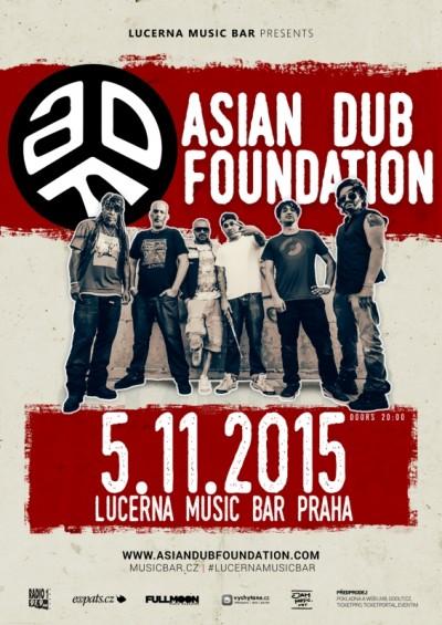 Asian Dub Foundation se vrátí v listopadu do ČR