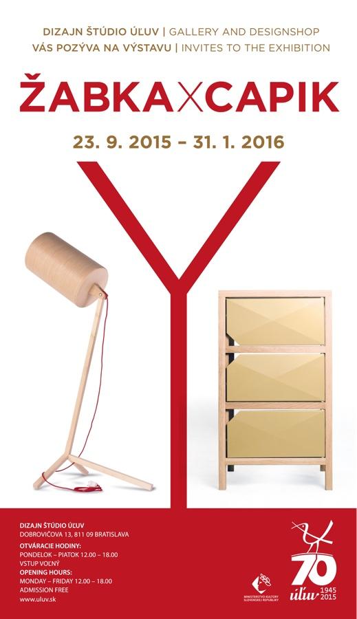ULUV PLAGAT vystava CAPIK ZABKA  600x1040+5 2015 press