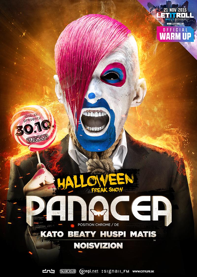 Strašidelné bicie a desivé basy na Halloween v Subclube