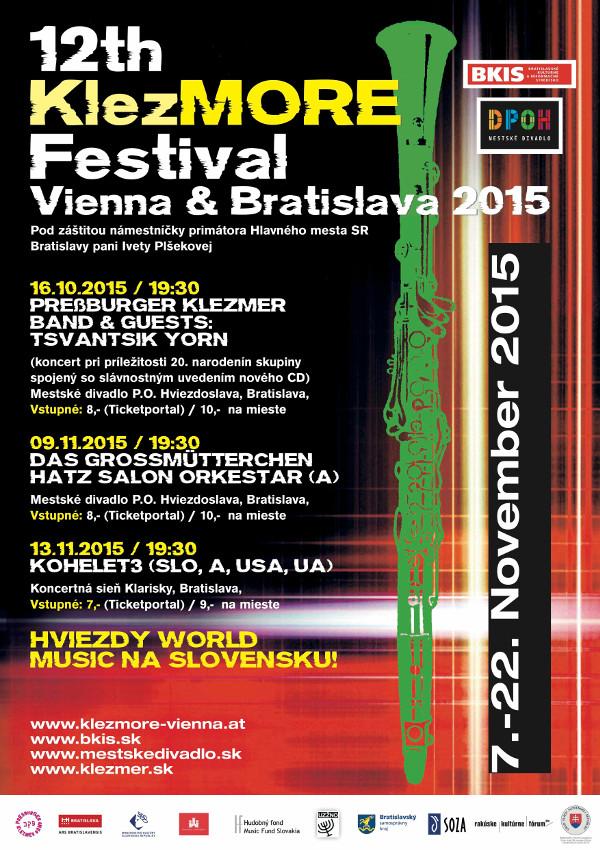 Viedenský festival KlezMORE prinesie do Bratislavy tri silné koncerty