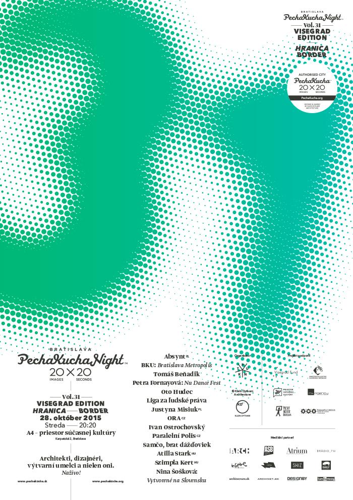 PechaKucha Night Bratislava Vo. 31: O hraniciach okolo, aj vnás