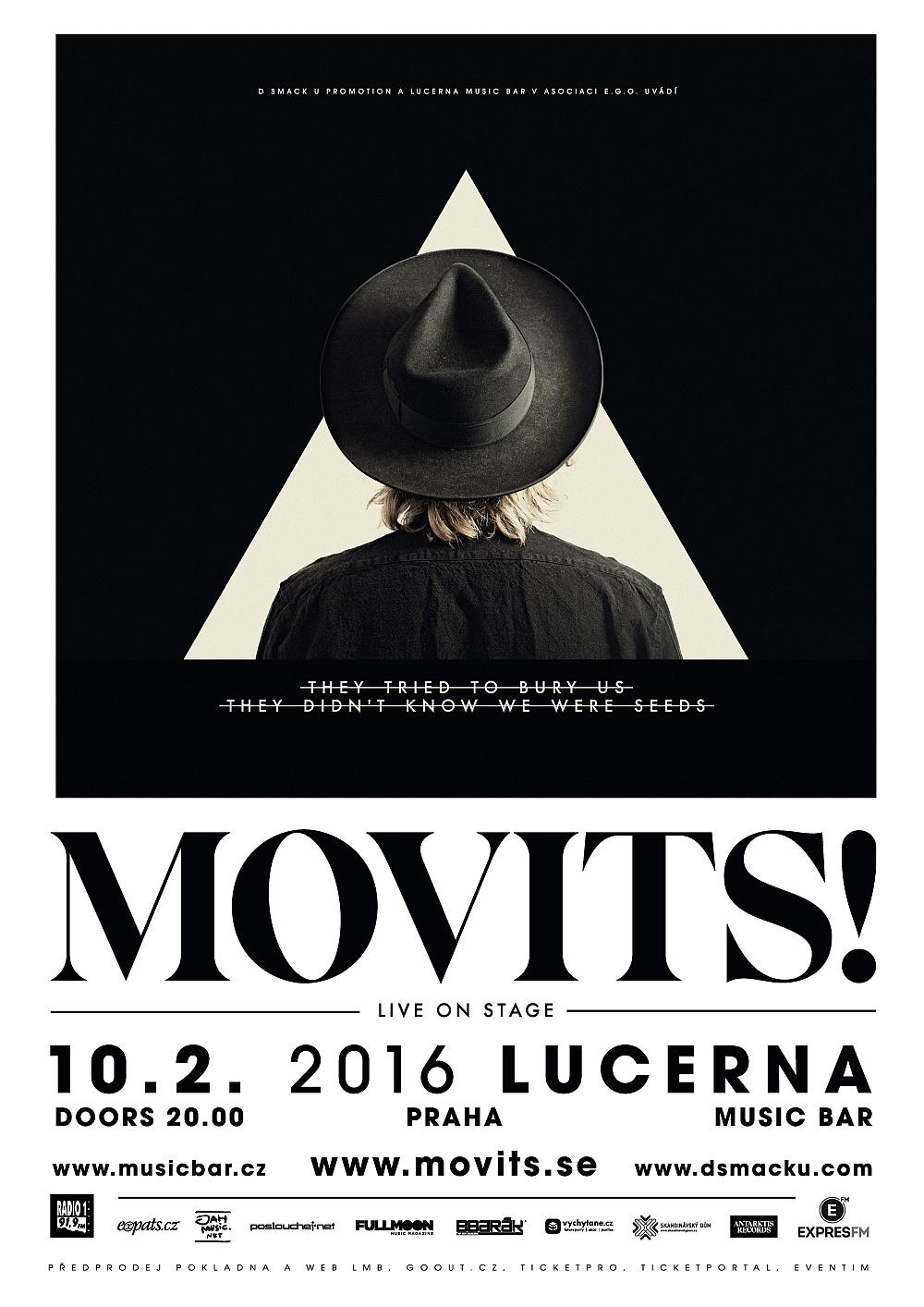 Švédští Movits! přivezou v únoru do Prahy nové album