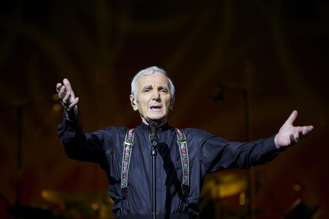 Charles Aznavour poprvé v ČR