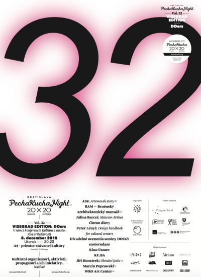 PechaKucha Night Bratislava Vol. 32: Kto tu robí kultúru?