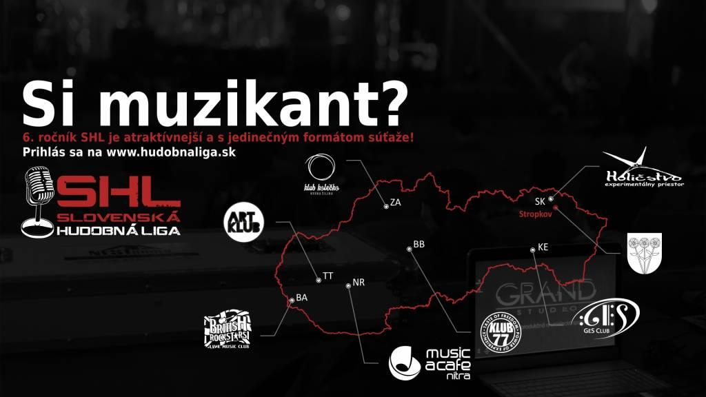 S koncom roka aj koniec možnosti prihlásenia sa do Slovenskej hudobnej ligy