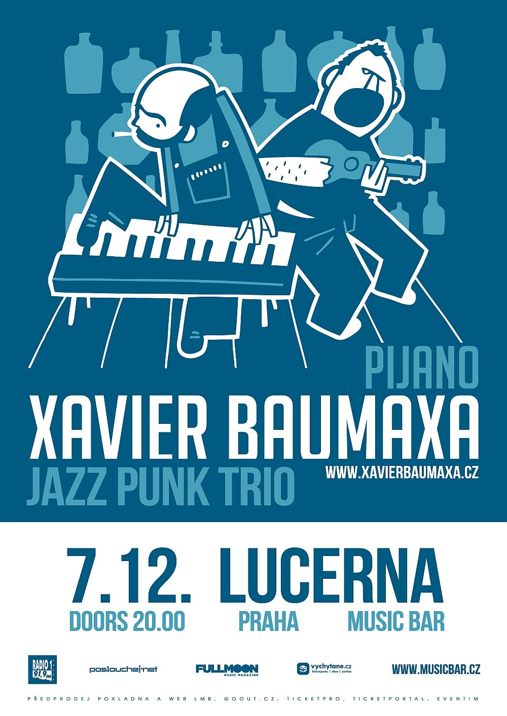 Xavier Baumaxa vystoupí v pondělí ve speciální sestavě