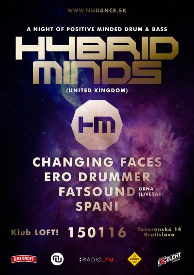 HYBRID MINDS už v piatok 15. januára v Bratislave
