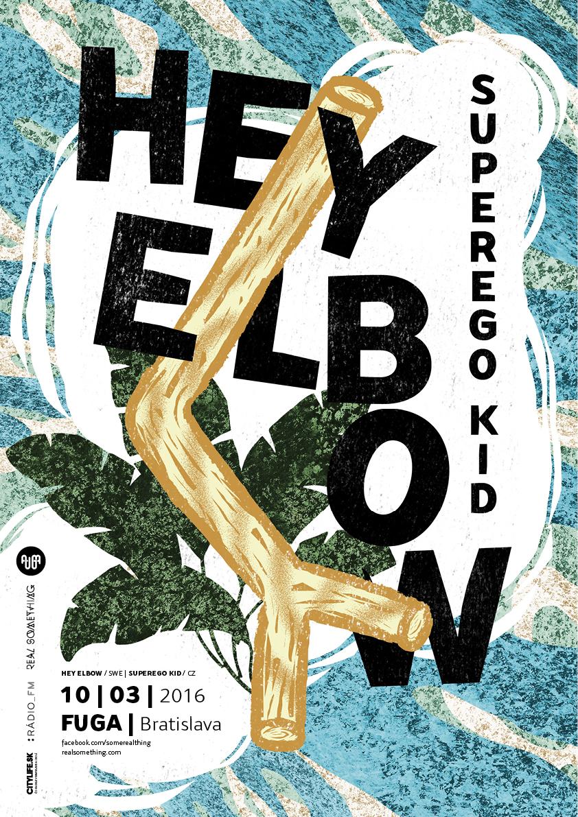 Hey Elbow – švédska temnota v bratislavskej Fuge