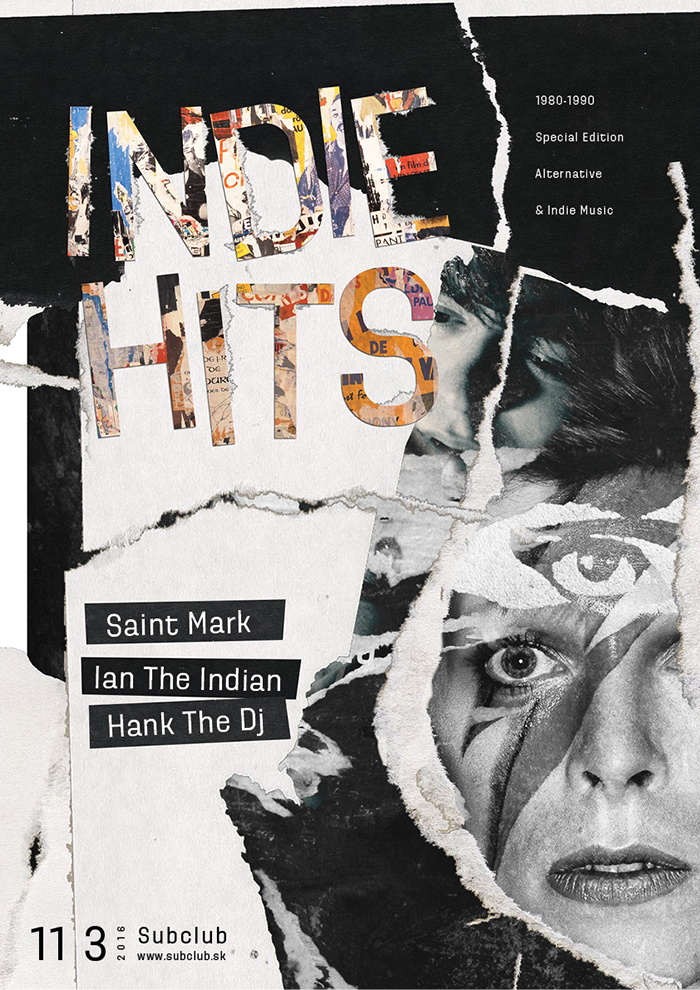 INDIE HITS (80´s Special) 11. marca @ Subclub