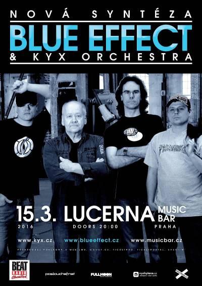 Blue Effect s KYX Orchestra zahrají Novou syntézu