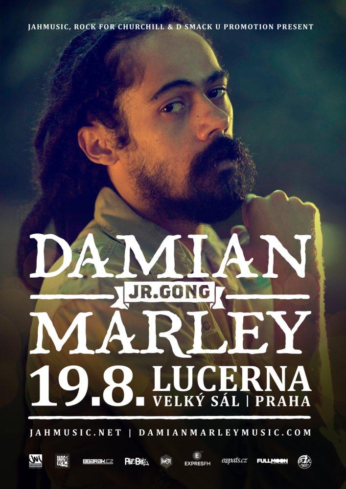 Hvězdný Damian Marley přijede poprvé do ČR