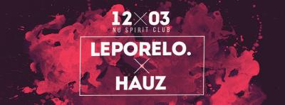 Leporelo. x Hauz – už túto sobotu vNu Spirit Clube…