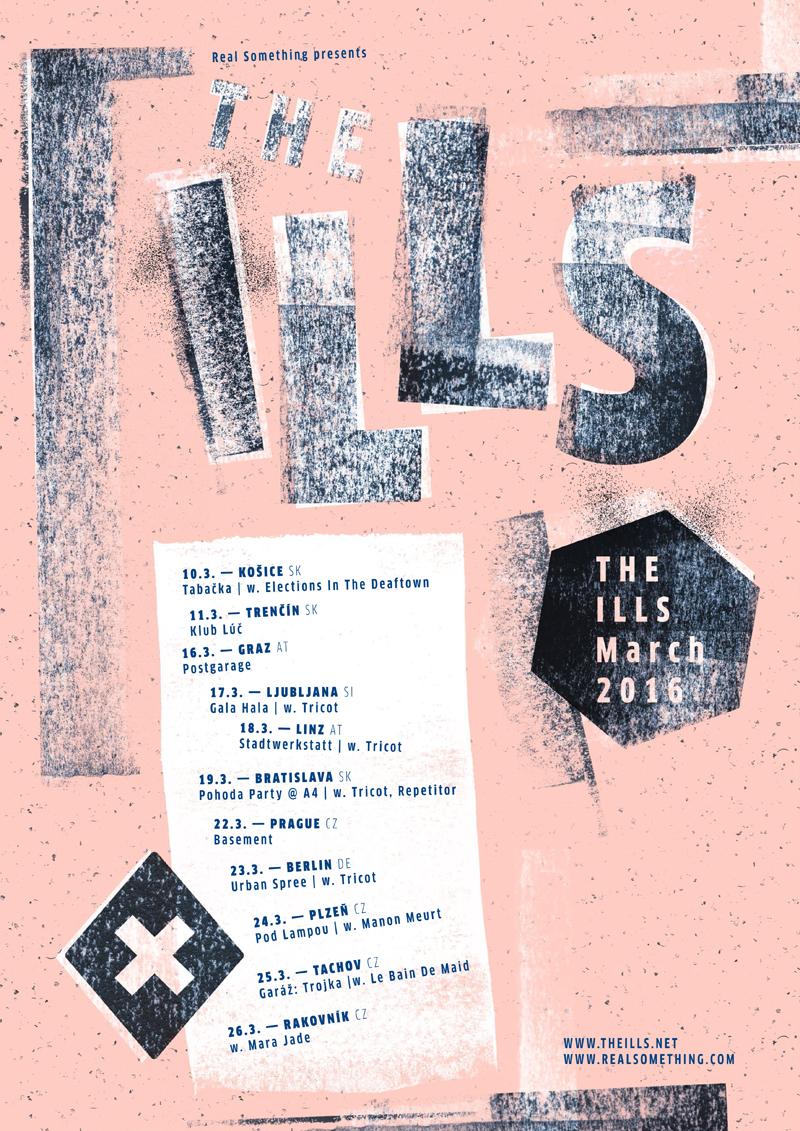 The Ills nahrali album Ornamental or Mental  a vyrážajú na turné po piatich krajinách