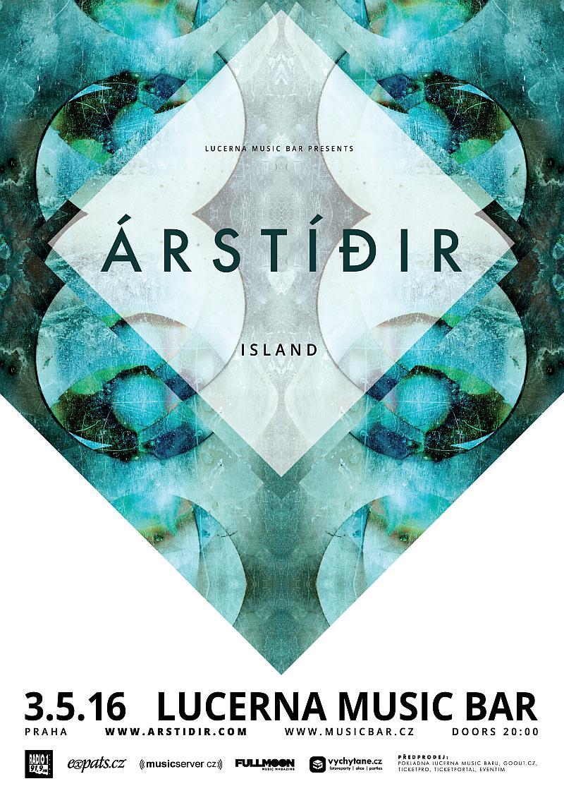 Islandští Árstídir vystoupí již v úterý v Lucerna Music Baru