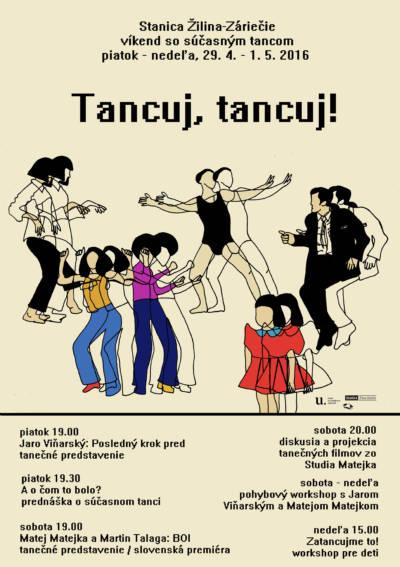 Oslavy Medzinárodného dňa tanca budú patriť podpore banskobystrického Divadla Štúdio tanca